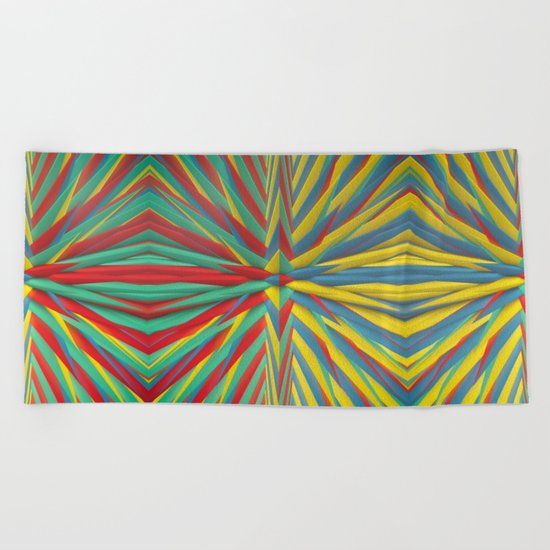 Spiked Perspective Beach Towel
