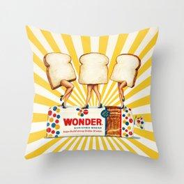 Wonder Women Throw Pillow