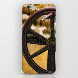 old locks wheel iPhone Skin