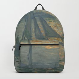Claude Monet Sunrise (Marine) Backpack