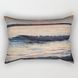 Color of the Waves Rectangular Pillow