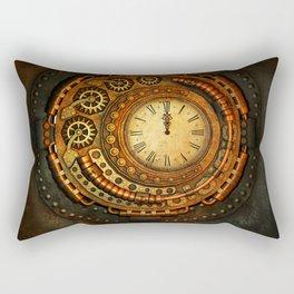 vintage clock_1 Rectangular Pillow