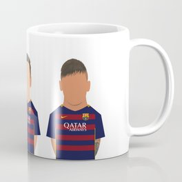 Messi - Suárez - Neymar Coffee Mug