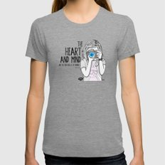 True Lens - Special Edition Womens Fitted Tee Tri-Grey MEDIUM