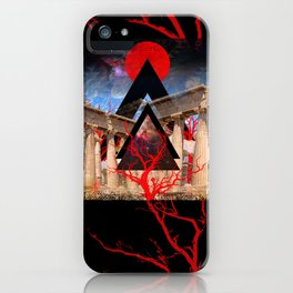 Visions and Illusions iPhone Case