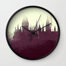 Hogwarts Wall Clock