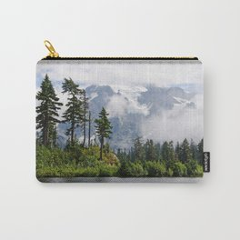 MOUNT SHUKSAN EMERGING THROUGH THE CLOUDS Carry-All Pouch