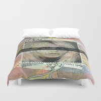 lolita Duvet Covers featuring Lolita Syndrome by Porfyra