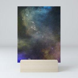 Zodiac Signs & The Night Sky Mini Art Print