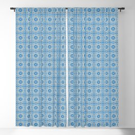 AZUL TILE Blackout Curtain