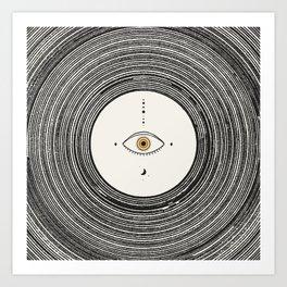 Universe Eye Art Print