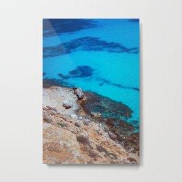 The blue lagoon Metal Print