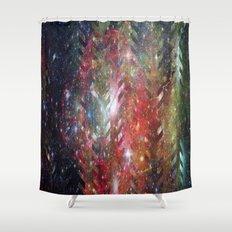 1/cursed universe Shower Curtain