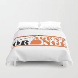 Agent Orange Duvet Cover