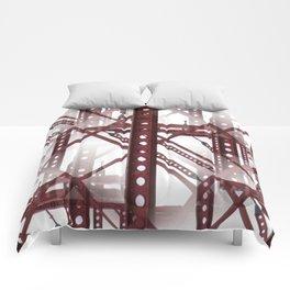 Red Steel Construction Comforters