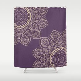 Lavender Tulips Shower Curtain