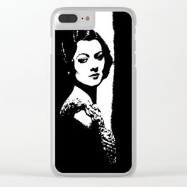 Myrna Loy Is Gorgeous Clear iPhone Case