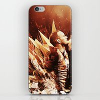 wesley bird iPhone & iPod Skins featuring Wesley Sneijder by Max Hopmans / FootWalls