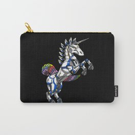 Unicorn Robot Magical Rainbow Monster Carry-All Pouch