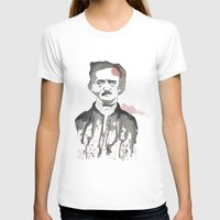 poe T-shirts featuring Poe by Eda ERKOVAN