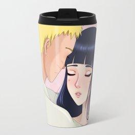 Naruto and Hinata - Fanart Travel Mug