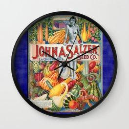 Come into the Garden Wall Clock