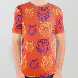 Owl Nation All Over Graphic Tee