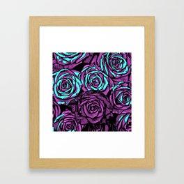 Roses | 8 BIT Framed Art Print
