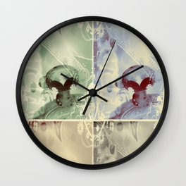 4 Keys - ILL Design - Roth Gagliano Wall Clock