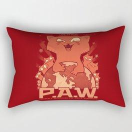 Pussycats for World Domination Rectangular Pillow