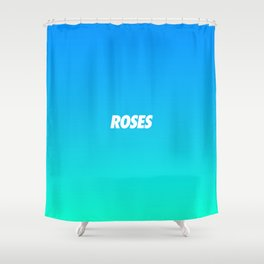 #TBT - ROSES Shower Curtain