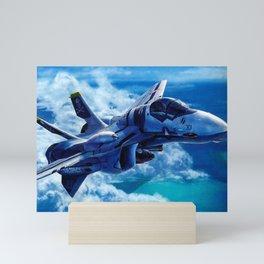 Macross AirCraft VF-1 Valkyrie Mini Art Print
