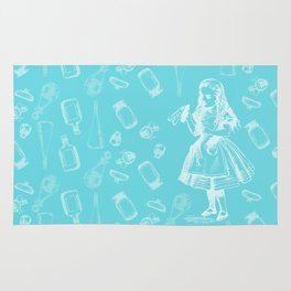 Alice in Wonderland and Jars Rug