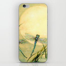 Dragonfly Moon  iPhone Skin