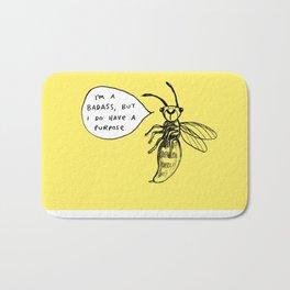 Wasps Aren't Evil Bath Mat