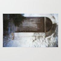 italian Area & Throw Rugs featuring Italian Door by Maria Heyens