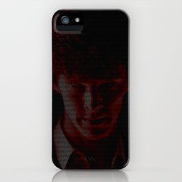 A Study In Scarlet iPhone Case