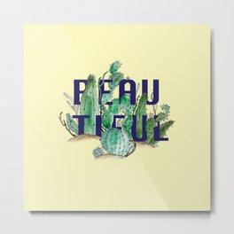 Cactus by Kim Hoang Metal Print