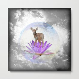 Oh my Deer Metal Print