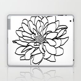 Flower (white) Laptop & iPad Skin
