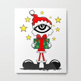 Eye Christmas II Metal Print