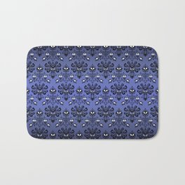Owl Ghost and Cyclops Monster Pattern Art Bath Mat