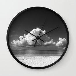 Kuroshima cloud Wall Clock