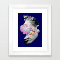 Banished to this beautiful land Framed Art Print