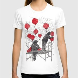 Chinese lanterns #1 T-shirt
