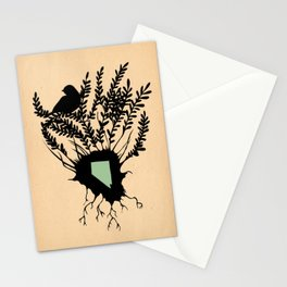 Nevada - State Papercut Print Stationery Cards