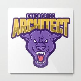 Powerful Enterprise Architect Metal Print