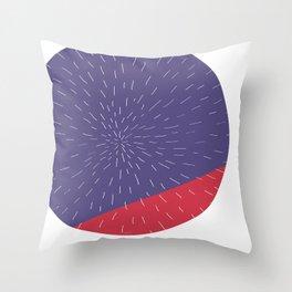 Retro Mod Flowers #5 by Friztin Throw Pillow
