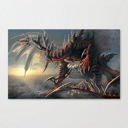 Demon Slayer Commission Canvas Print