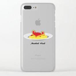 Sailor moon meatball head Clear iPhone Case